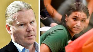 Advokat Lars Jähresten säger att om inte Johanna Möller slutar skicka brev och försöka kontakta hans klient så överväger de att skaffa ett kontaktförbud mot henne.