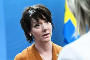 Matilda Ernkrans (S), minister för högre utbildning och forskning. Arkivbild. Foto: Fredrik Sandberg/TT