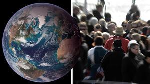 Vi måste ta klimathotet på allvar, menar Harriet Olsén. Bild: Nasa / Hasse Holmberg/TT