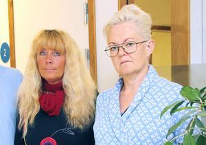 Arbetsförmedlarna Lotta Nilsson och Ann-Louise Fredriksson.