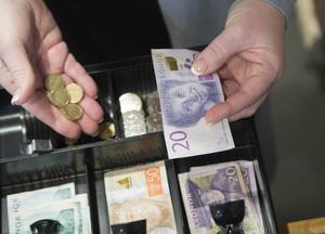 Över hela landet tror endast en av tio företagare att försäljningen kommer minska, enligt Vismas undersökning. Bild: Fredrik Sandberg TT