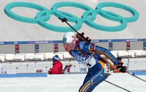OS 2002 gav Forsberg två medaljer. Foto: Jan Collsiöö/TT
