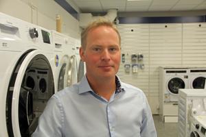 Daniel Erlandsson är glad över att vara nominerad till priset årets företagsledare.