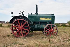 Munktells 25 2-cyl från 1934. En eftertraktad tidig Munktell.Bild: Bilweb Auctions