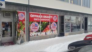 American Take Aways blivande lokaler vid Falangallerian i centrala Falun. Restaurangen öppnar i början av februari. Foto: Diös/Pressbild