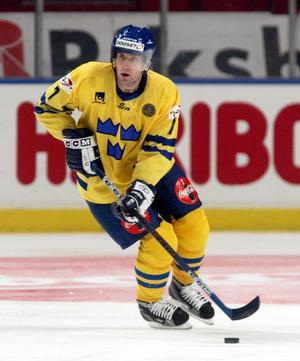Ricard Persson i Tre Kronors tröja 2003. Foto: Bildbyrån