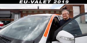 Lennart Vikberg är nöjd med sin vätgasbil, även om det blev besvärligt när det enda tankstället hade teknikbekymmer.
