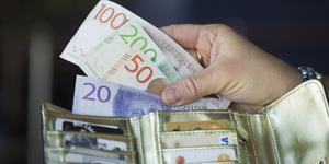 Ovanåkersborna får varken mer eller mindre kvar i plånboken nästa år. Foto: Fredrik Sandberg / TT.