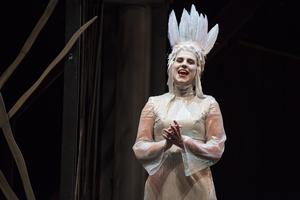 Sabina Bisholt som Pamina. Fotograf: Andreas Hylthén.