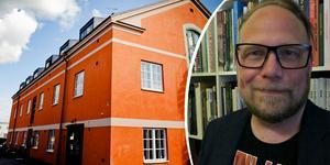 Hans-Erik Wahlberg tillträder som ny rektor för Örebro konstskola. Foto: Filip Erlind / Agneta Wahlberg (bilden är ett montage)