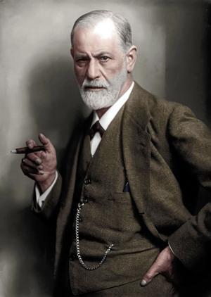 Sigmund Freud 1925. Foto: Max Halberstadt