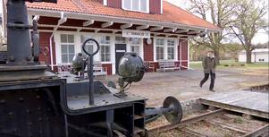 Övernattningen skedde vid Tåg i Tärnsjös bed & breakfast. Foto: DR