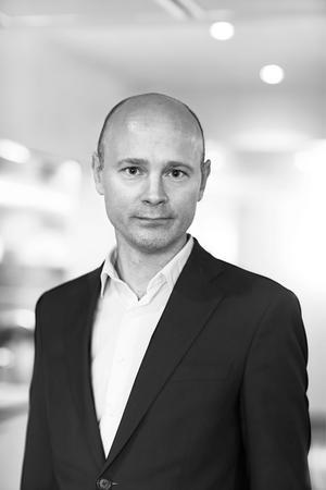 Klas Nilsson, Bolidens kommunikationsdirektör, tycker att det ser väldigt positivt ut för Garpenbergsgruvans utveckling. Foto: Jeanette Hägglund