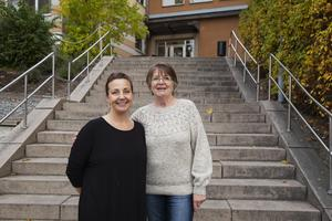 Cecilia Brundin Pettersson och Gun-Marie Sjöholm jobbar på Dala ABC som kommer ha kunskapsträffar under hösten.