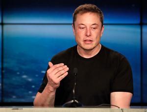 Elon Musk, miljardären bakom PayPal och Tesla bland annat. Bild: TT