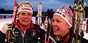 Ida Ingemarsdotter och Emma Wikén.