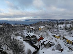 Utsikt över Dunkehalla. Foto: Madelene Ljungars