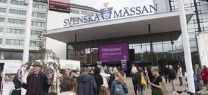 Årets bokmässa invigs i dag och pågår till och med söndag. Bild: Fredrik Sandberg/TT