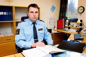 Kommunpolisen Dick Danielsson säger att de brottsförebyggande insatserna vid Björnaskolan kommer att fortsätta.Bild: Jennie Sundberg