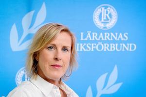 Foto: Anders Wiklund / TTÅsa Fahlén är ordförande i Lärarnas Riksförbund.