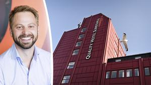 Nils Korsvoll på Nordic Choice Hotels, koncernen som äger Quality Hotels Sundsvall och Clarion.