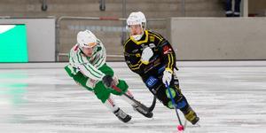 Matchen mellan VSK och Broberg utvecklade sig till en riktig rysare.