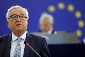 EU-kommissionens ordförande, Jean-Claude Juncker. Foto: AP Photo/Jean-Francois Badias.