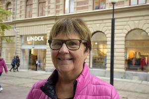 Kerstin Udd, 70, pensionär, Matfors: