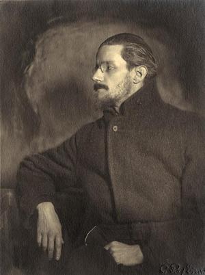 James Joyce 1918. Foto: C. Ruf