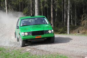 Pontus Lönnström gör VM-debut. Dock inte i sin gröna Volvo 940 utan i en Ford Fiesta.