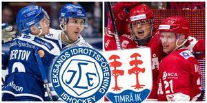 LIF eller Timrå – vilket lag vinner finalen? Foto: Bildbyrån.