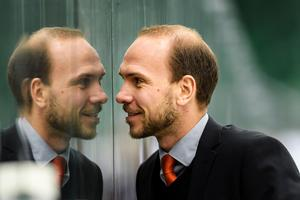 Anders Palm är bara 34 år men har trots det arbetat som målvaktstränare i över tio år. Bild: Anders Bjurö/Bildbyrån