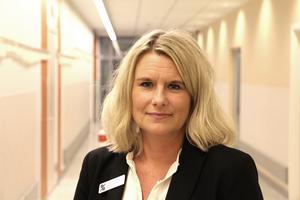 Johanna Ågren, verksamhetschef, onkologi, Region Gävleborg.