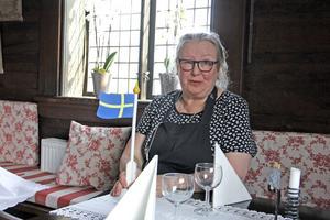 – Jag slutar med flaggan i topp, konstaterar Louise Biloff. Kungsuddens restaurang har varit ett populärt utflyktsmål för invånare i hela regionen.