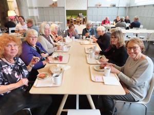 Tolv medlemmar hängde med till Nordiska museet. Foto: Privat