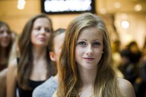 Erica Kivinen, 19 år, bor i Stockholm men sökte till Modelljakten i Gävle i hopp om att ha en större chans att stå ut från mängden. – Att bli modell är min barndomsdröm, säger hon.