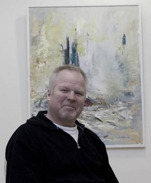 Anders Malm. Ibland övertydlig i sina målningar...