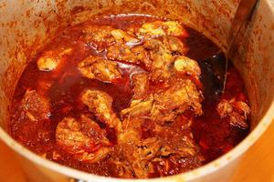 Den eritreanska kycklinggrytan fick många (svenskar) att svettas lite extra.
