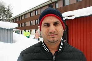 Ibrahim Akil berättar att han inte är förvånad av händelserna.