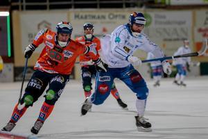 Anders Spinnars fick snabbt hoppa in som vikarie på liberoplatsen.