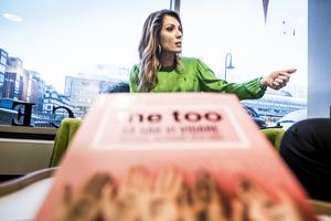 Alexandra Pascalidou, författare och frilansjournalist, redaktör för en bok om #metoo-rörelsen.
