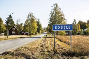 I Edsele bor nära 450 personer.