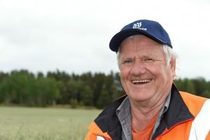 Lars-Gunnar Dahlström driver ett familjejordbruk i Sorunda.