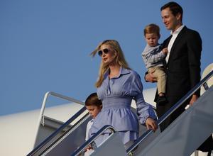 Ivanka Trump och maken Jared Kushner är inflytelserika spelare inom Trump-administrationen.