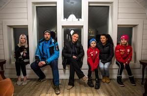 Gänget bakom satsningen är Meja Dahlin, Fredrik Dahlin, Linda Dahlin, Isak Dahlin, Annelie Olsson och Agnes Dahlin.
