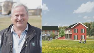 Ljusbo Hyreshus AB:s vd Gösta Sundberg ska söka bygglov för klimatsmarta bostäder i Smedjebacken.