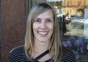 Nina Backholm, snart Bohlin, 37 år, journalist, Sundsvall