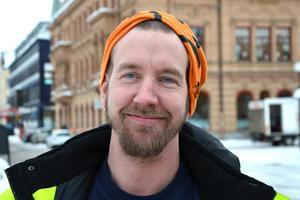 Björn Wall, 36 år, ställningsbyggare, Kramfors: