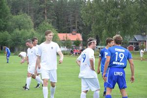 Jonas Arntzen kände sig lite ringrostig på fotbollsplanen.