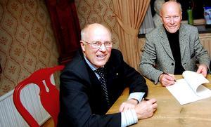 Lennart och Sten Bengtsson sålde Dalarnas Tidningar till Mittmedia 2007. Arkivfoto: Johan Solum